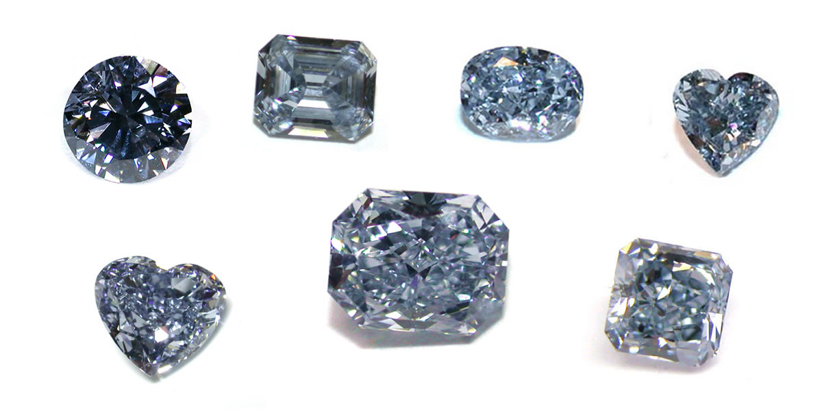 Natural Blue Diamonds At Icestore